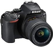Nikon 1576 D5600 DX-Format Digital SLR with AF-P DX NIKKOR 18-55mm f/3.5-5.6G VR Lens, Black (Renewed)