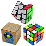 Magic Speed Cube: The Best Brain Training Game - 3X3 Easy Turning and Smooth Play, Super Durable with Vivid colors, Ultimate Holiday Gift Idea to Expand Your Mind with Hours of Logical Fun.