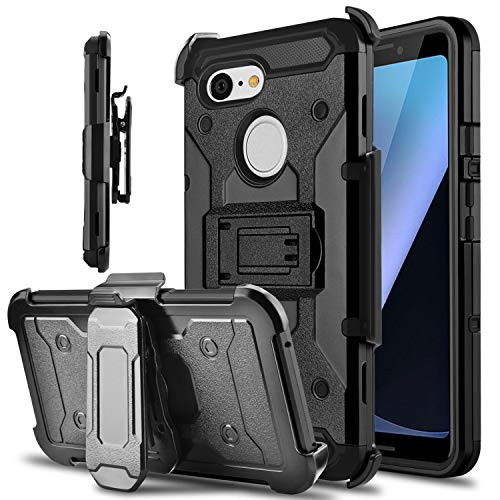 belt clip holster kickstand case for pixel 3