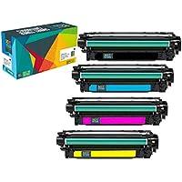 Do it Wiser Compatible for HP 651A CE341A CE342A CE343A CE340A Toner for HP Laserjet Enterprise 700 MFP M775 M775dn - 4 Pack