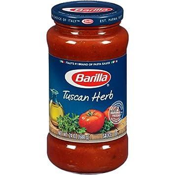 Barilla Pasta Sauce, Tuscan Herb, 24 oz