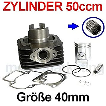 Unbranded 50 CCM Zylinder KIT /& Nadel Lager Set Satz f/ür Explorer Kallio 50 Zylinderkit