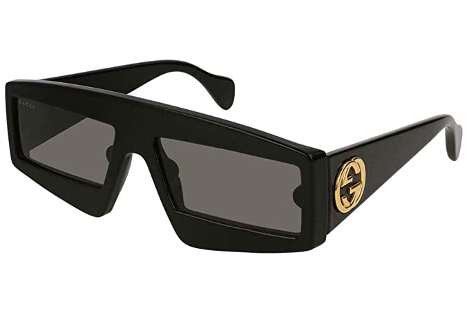 Gucci Gafas de Sol GG0358S BLACK/GREY mujer: Amazon.es: Ropa ...