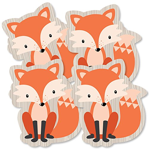 - Fox - Decorations DIY Baby Shower or Birthday Party Essentials - Set of 20