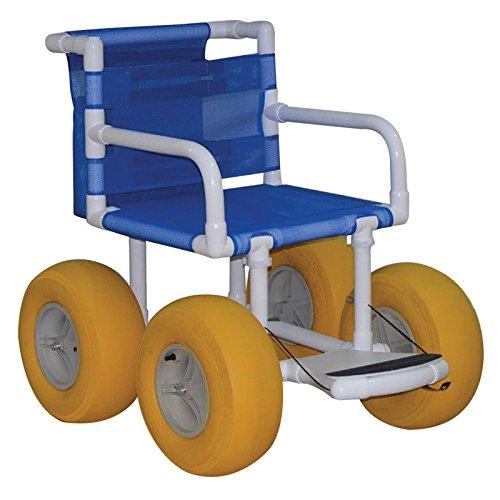 "MJM International E720-ATC Echo All Terrain Chair, 250 fl oz, 38"" Height x 36"" Length x 34"" Width"