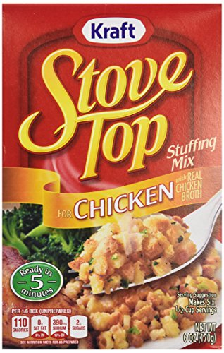 Stove Top Chicken Stuffing Mix, 6 oz