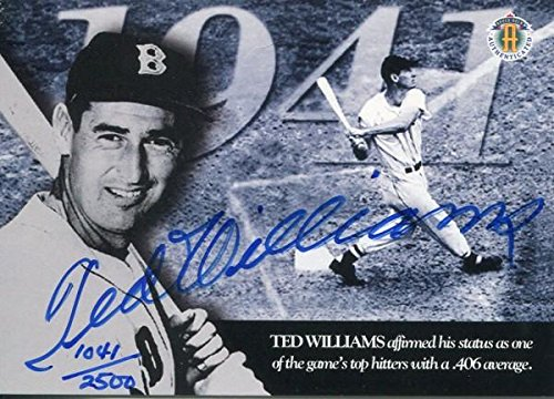 Ted Williams Autographed 1994 Upper Deck Card - MLB Autographed Baseball -