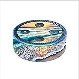 itsaskin Skin Decal Vinyl Wrap for Amazon Echo Dot 2 (2nd Generation) / Sunset on Beach