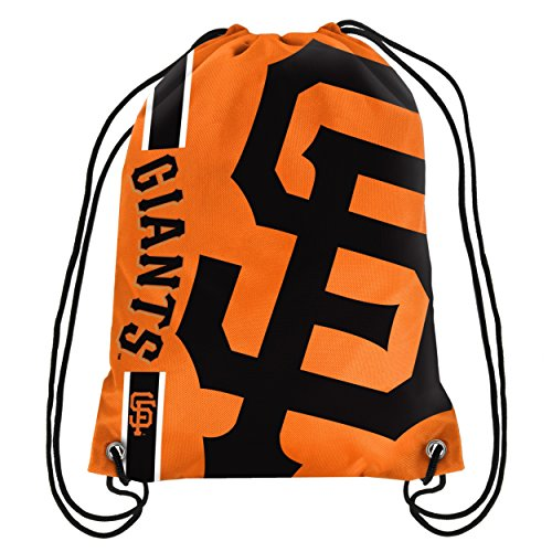 FOCO San Francisco Giants Big Logo Drawstring Backpack (San Francisco Giants Gear)
