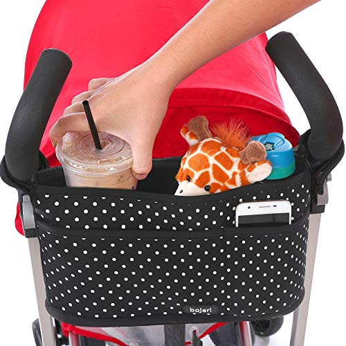 Stroller Organizer Caddy with Deep Cup Holders
