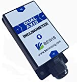 2D Dynamic Inclinometer Tilt Angle Sensor BW-VG50 with Dynamic Accuracy 2 Degree/Static Accuracy 0.2 Degree and RS232,RS485,TTL Output