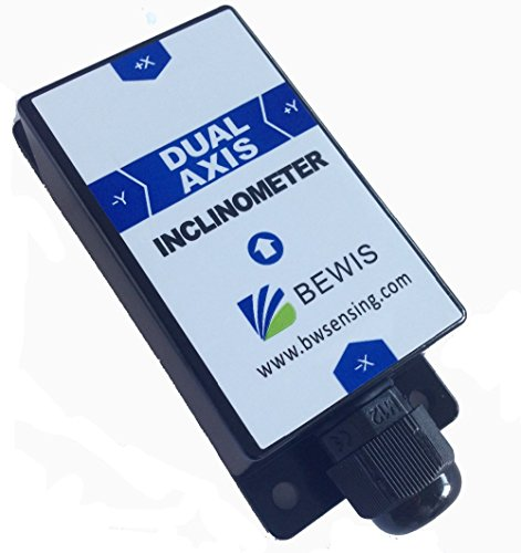 2D Dynamic Inclinometer Tilt Angle Sensor BW-VG200 with Dynamic Accuracy 1 Degree/Static Accuracy 0.1 Degree and RS232,RS485,TTL Output by Bewis