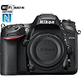 Nikon D7200 24.2 MP DX-Format Digital SLR Body Wi-Fi NFC (Black)(Certified Refurbished)