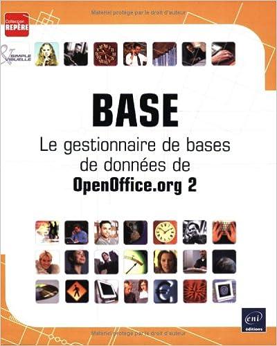 Livre gratuits en ligne Base : Le gestionnaire de bases de données de OpenOffice.org 2 pdf, epub