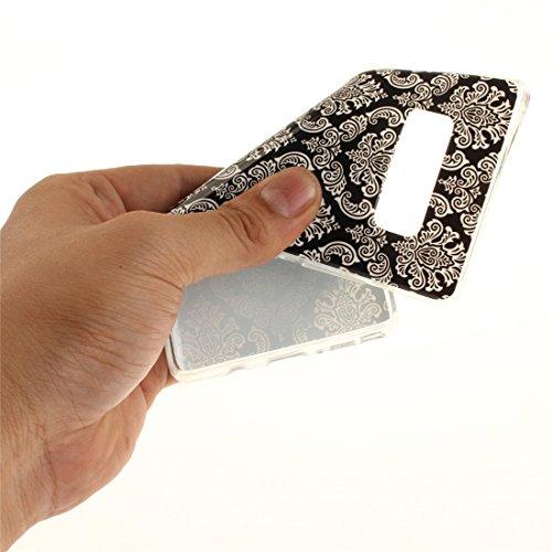 Transparent TPU Souple Peint Samsung Antichoc Cas Scratch Silicone De Retro Motif Note8 Bord Galaxy Cas Résistant Téléphone En Fit N9500 De Couverture Protection art Arrière Hozor Slim 0Swpqw