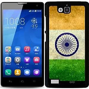 Funda para Huawei Honor 3C - Bandera De La India, Vintage Retro by BruceStanfieldArtist