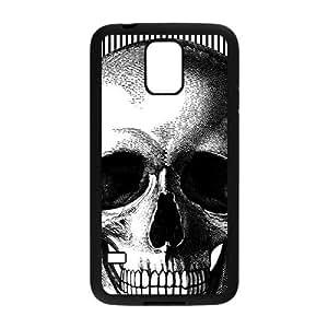 Flowers Skull Custom Protective Hard Phone Cae For Samsung Galaxy S5