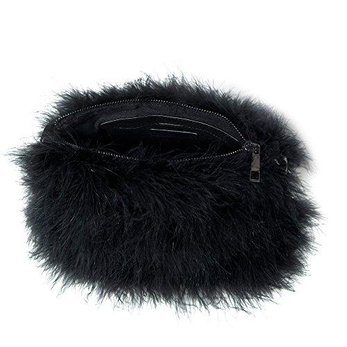 Parfois - Clutch - Bandolera Ostrich - Mujeres Negro