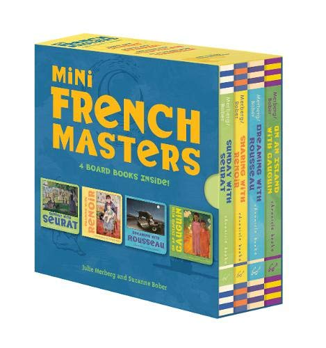 Mini French Masters Boxed Set: 4 Board Books Inside!