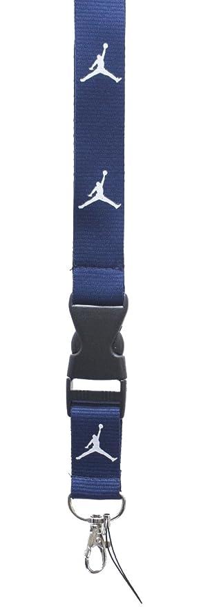 Nike Air Jordan llavero de cordón llavero Id Holder Insignia ...