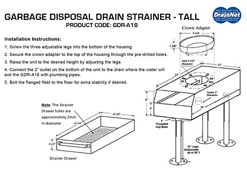 Garbage Disposal Replacement Unit by Drain-Net (Image #5)