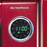 Nostalgia RMO4RR Retro Large 0.9 cu ft, 800-Watt