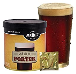 Mr. Beer American Porter 2 Gallon Homebrewing Craft Beer Refill Kit