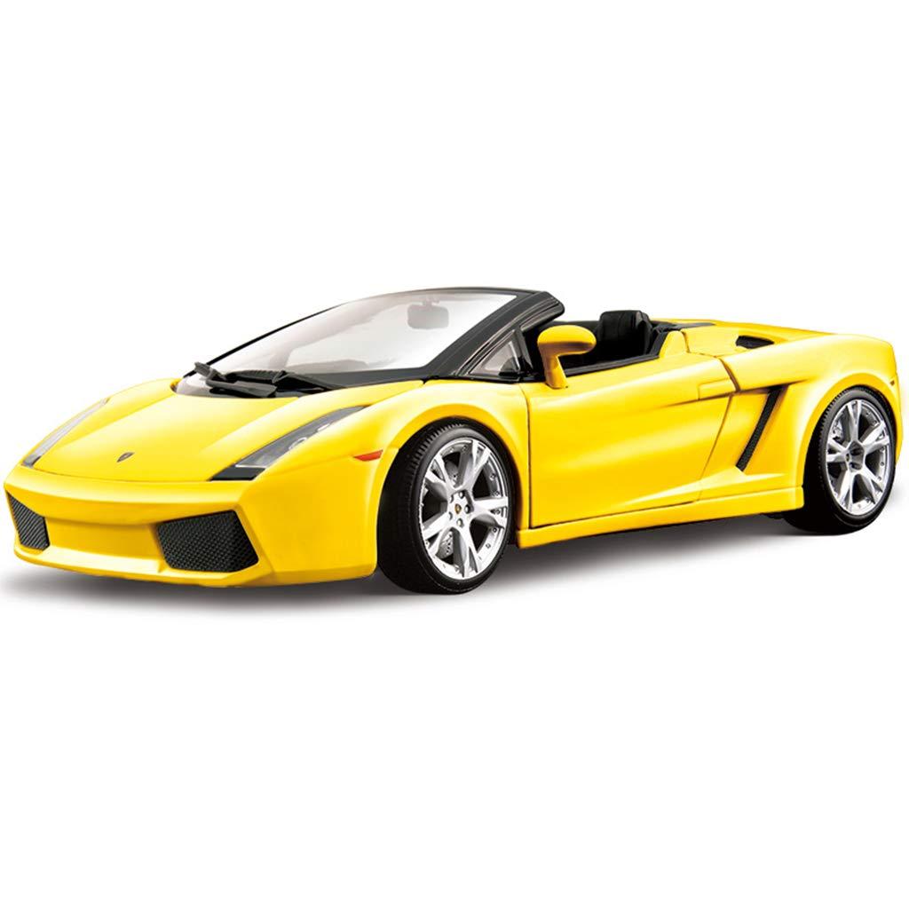 XINGPING-TOY 1 18 Lamborghini Model Model Simulazione del Modello Originale Gallardo LP700 Raventon (colore   giallo 035)