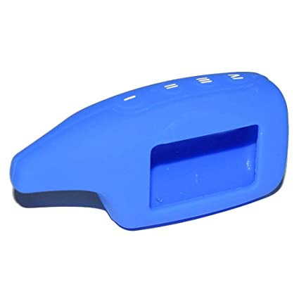 Silicone Case Shell For Scher-khan Magicar 5 Two Way Car Alarm LCD Remote