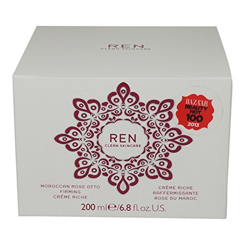 REN Moroccan Rose Otto Firming Creme Riche, 6.7 Ounce