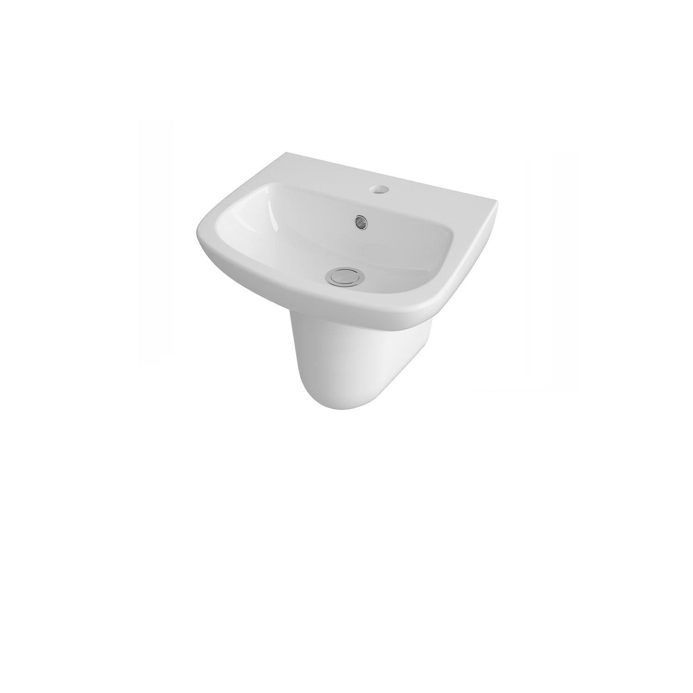 White 450 mm Premier CPC021 Basin