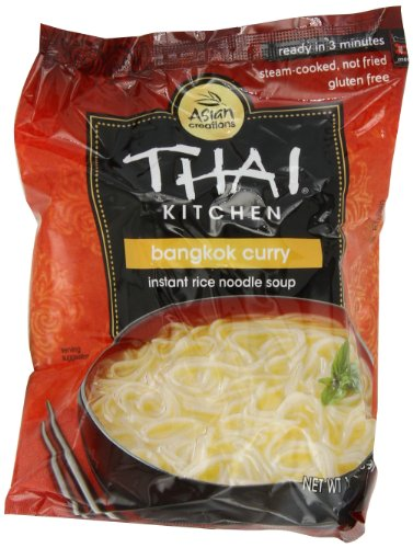 Thai Kitchen Curry - Thai Kitchen Bangkok Curry Instant Noodle, 1.6000-Ounce (Pack of 12)
