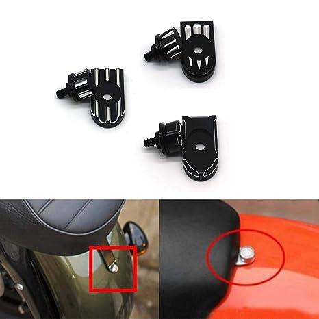 For Harley Davidson 1996-2018Custom Design Billet Aluminum Hard Anodized Seat Bolt Screw