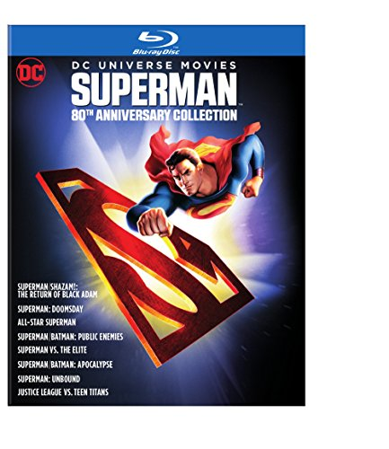 (DC Universe Movies Superman 80th Anniversary Collection (Blu-ray) )