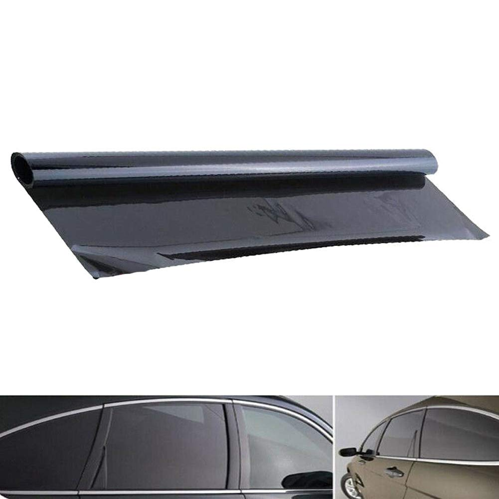 WE-WIN Fen/être de Voiture Tint Film Tinting Super Dark Black Film Bathroom Blinds 5/% 100 * 50cm