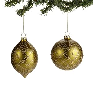 Christmas Décor from Department 56 Ornament Glass Ornaments