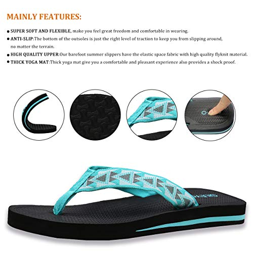 Womens Flip Flops Sandals Summer Beach Slippers