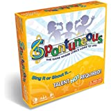 Spontuneous - The Song Game - Sing It or Shout It - Talent NOT Required (Best Family / Party Board Games for Kids, Teens, Adults - Boy & Girls Ages 8 & Up),Yellow
