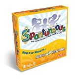 play nine board game - Spontuneous - The Song Game - Sing It or Shout It - Talent NOT Required (Best Family / Party Board Games for Kids, Teens, Adults - Boy & Girls Ages 8 & Up),Yellow