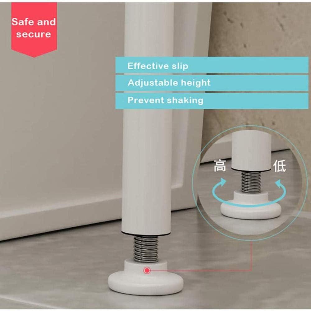 166 * 65 * 25 cm dreischichtiges Metalllagerregal zur Aufbewahrung von Kleinigkeiten in Toiletten und Badezimmern Waschmaschinenregal Multifunktionslagerregal