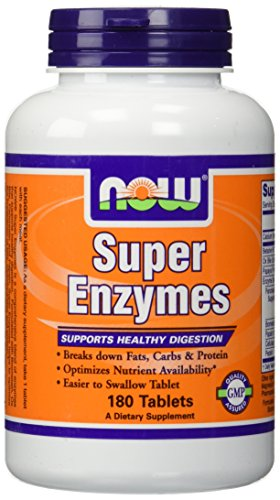 Super Enzymes Now Foods Tablets