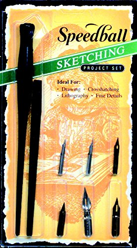 Speedball Art Products SB2964 Sketching Project Set