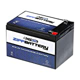 SLA Replacement Battery 12V 12AH AGM Battery- Battery for Peg Perego Gator HPX Toy/Riding Car- Zipp Battery