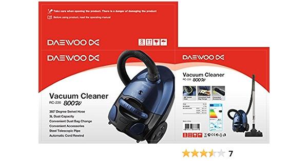 Daewoo RC220R Aspirador: Amazon.es: Hogar