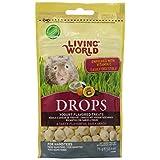 Living World Drops Hamster Treat, 2.6-Ounce, Yogurt