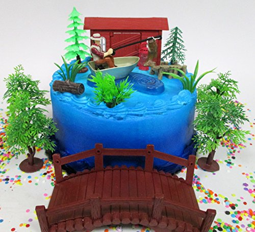 Admirable Fisherman Cake Toppers Shop Fisherman Cake Toppers Online Funny Birthday Cards Online Elaedamsfinfo