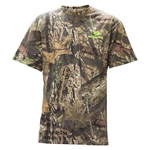 Tee Outline Camo - Staghorn Mossy Oak All Over Camo SS Tee, Mossy Breakup Country, XX-Large