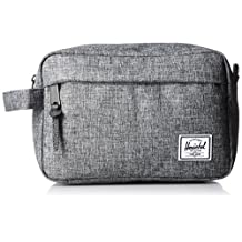 Herschel Supply Co. Chapter Travel Kit, Raven Crosshatch, One Size