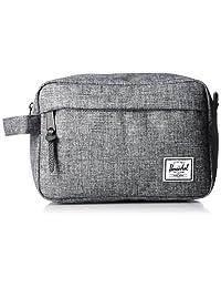 Herschel Supply Co. Chapter Travel Kit, Raven Crosshatch, One Size