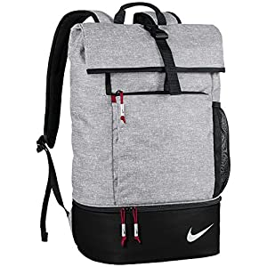 Nike Sport Backpack 2017 Silver/Black/Gym Red